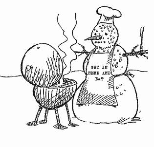 Winter clipart bbq  Newton Barbecue Ribbon celebrates
