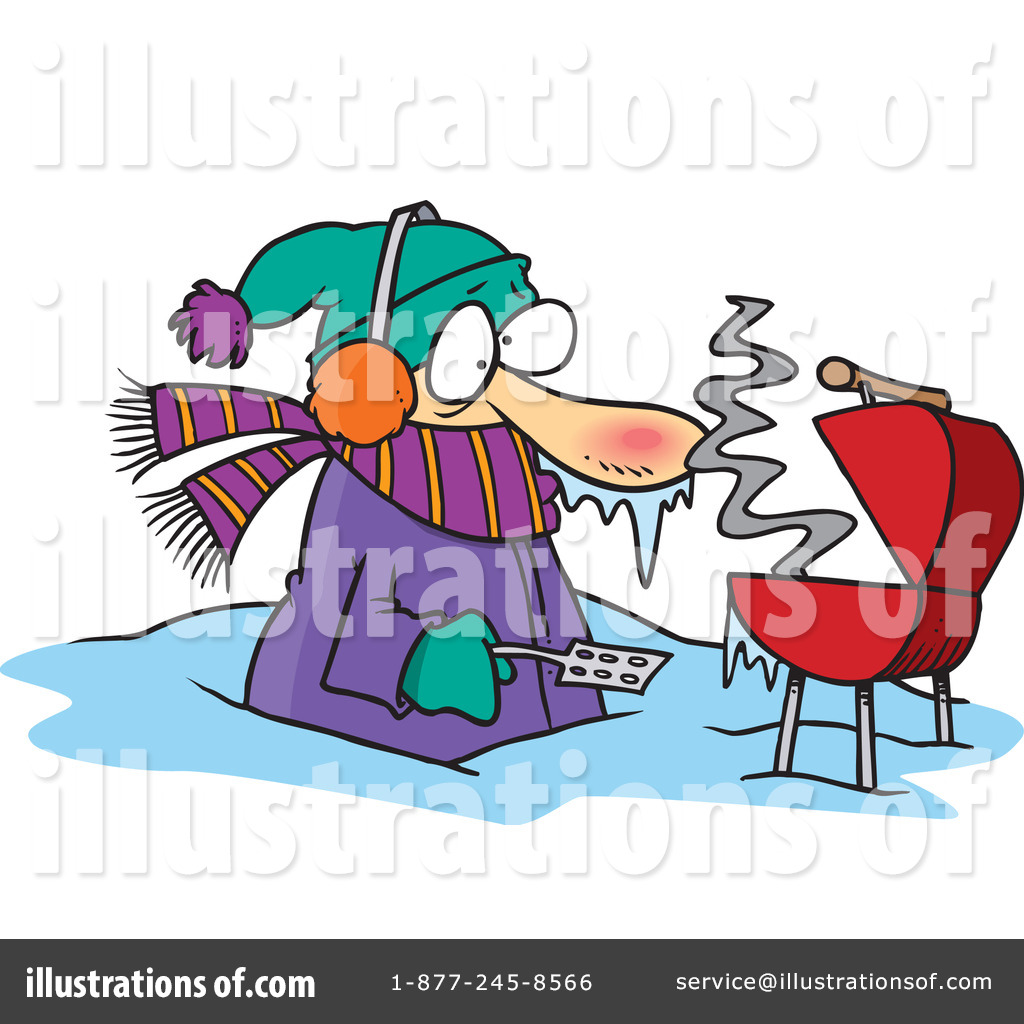 Winter clipart bbq Toonaday Clipart #436767 Free toonaday