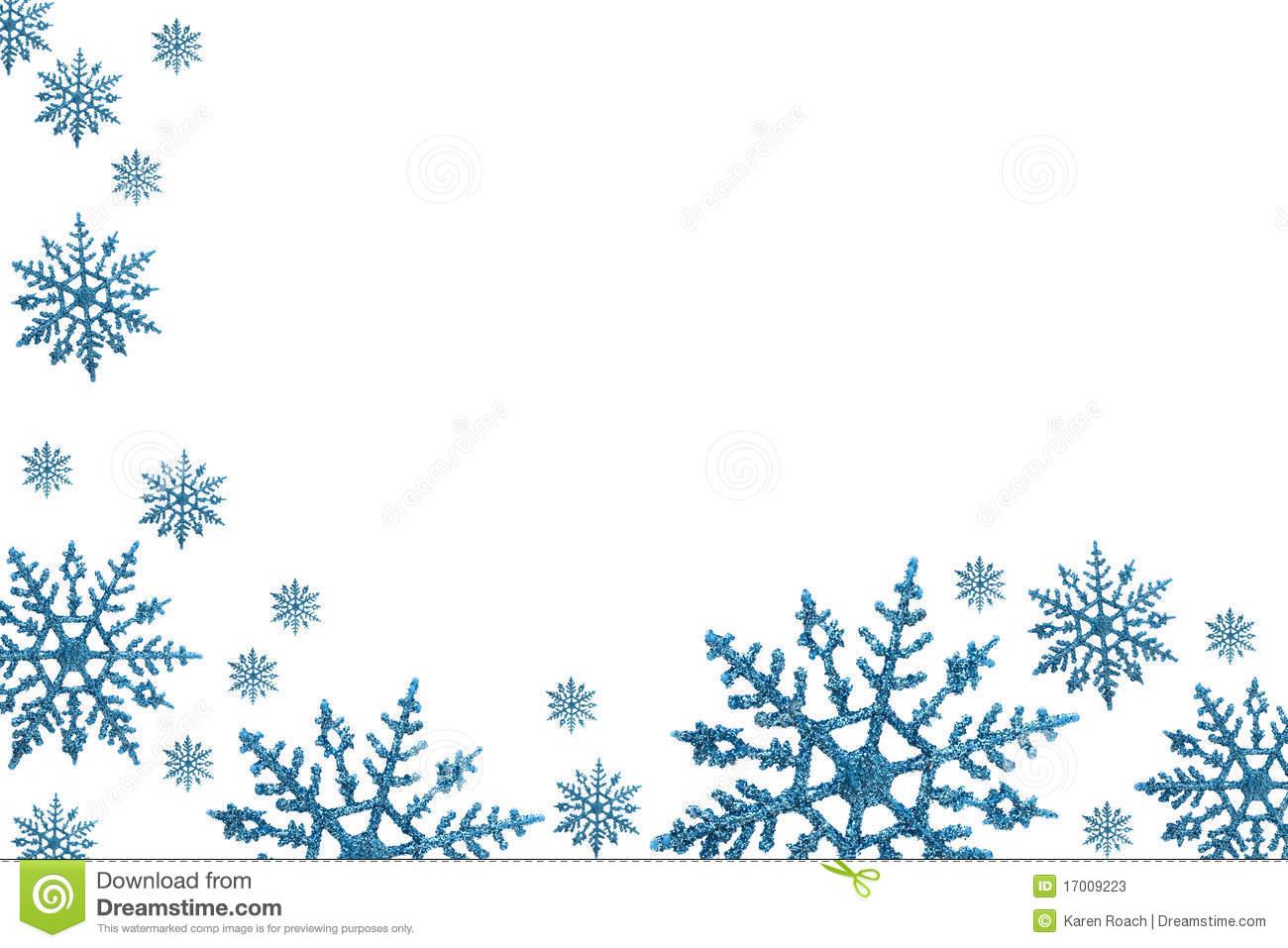 Winter clipart boarder  Winter Borders Clipart