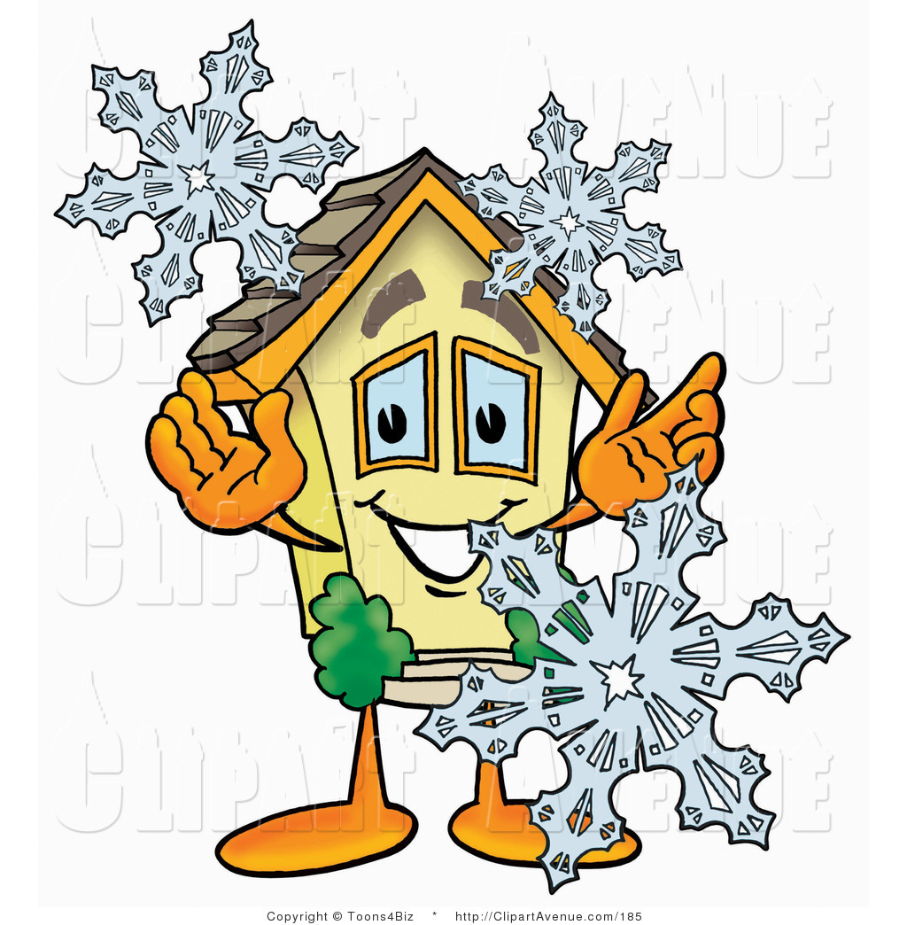 Winter clipart character Clipart Snowflakes Clipart Character Three
