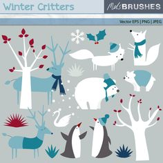 Winter clipart creature Pin inspirations this Medium Nelson