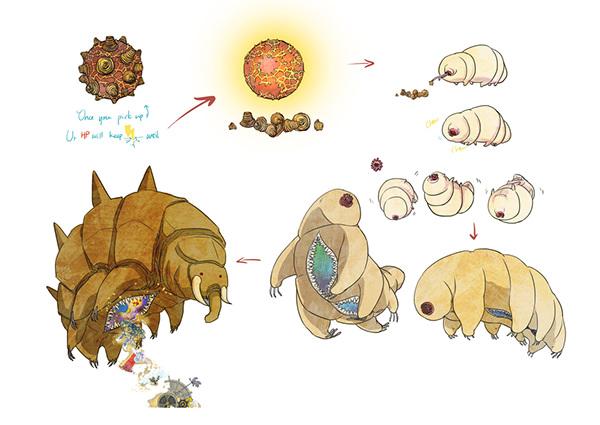 Winter clipart creature Creature circus on design Creature