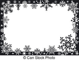 Winter clipart frame Clip holiday Clipart Winter frame