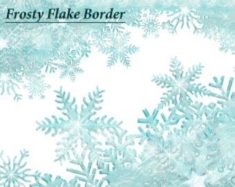 Winter clipart frost Snowflake Topper Snow Clipart Clipart