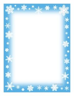 Winter clipart sad Border  page Free Writing