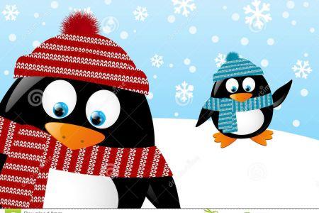 Winter clipart panda Clip Art Panda Clipart Penguin
