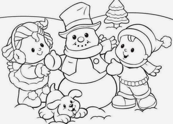 Winter clipart preschool Com winter filminspector Pivot coloring