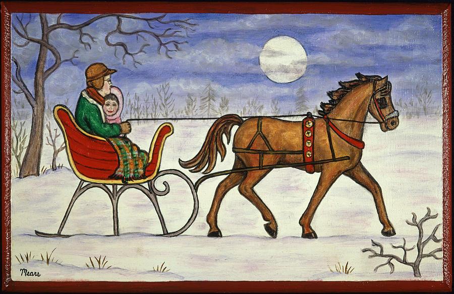 Winter clipart sleigh ride Ride Ride one rideHorse clip
