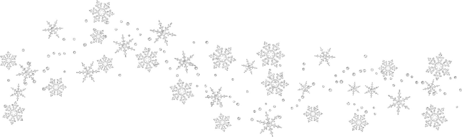 Winter clipart transparent background Clipart Snowflakes  free clipart