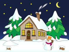 Winter clipart winter cabin Home images Search in Winter