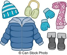 Winter clipart winter wear  Photo Winter clothing 110