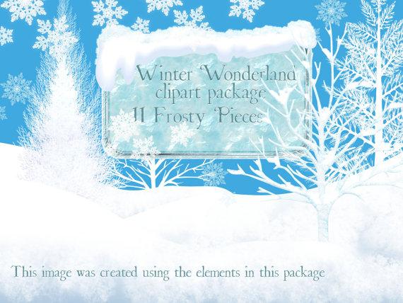 Winter clipart winter wonderland Winter Clipart Winter Art clipart
