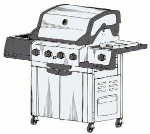 Wire clipart barbe Page Clip Barbe Barbeque Grill
