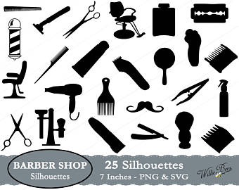 Wire clipart barber Etsy Images file Barber SVG