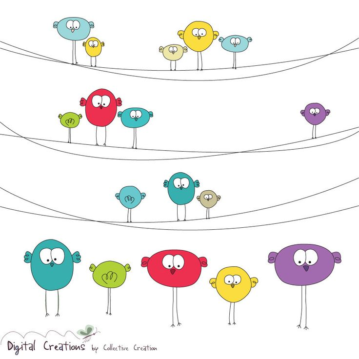Wire clipart bird on wire Wire Pinterest sharecute on share