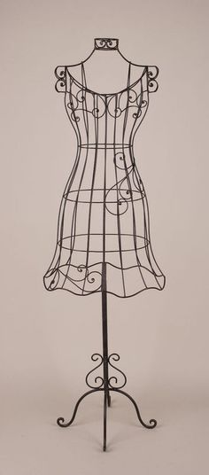 Wire clipart Iron wrought dress Mannequin Dress