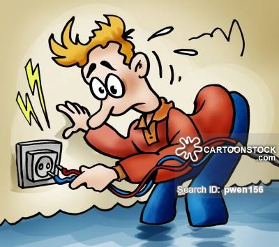 Wire clipart electric shock From CartoonStock 9 pictures cartoon
