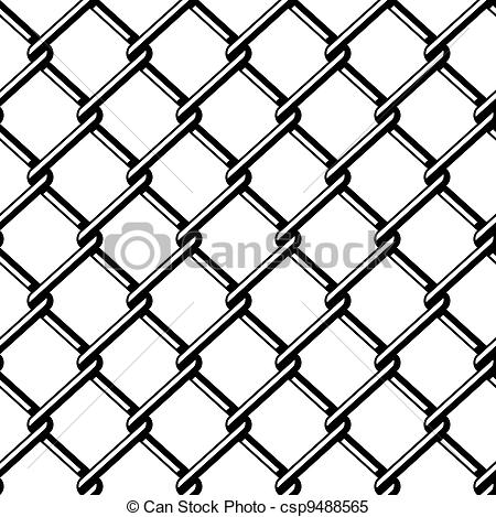 Wire clipart fencing wire Vector Vector black of wire