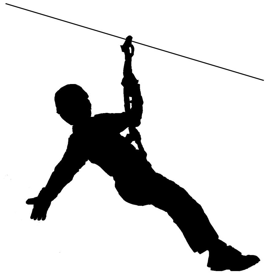 Wire clipart line Best  Zipline Clipart on
