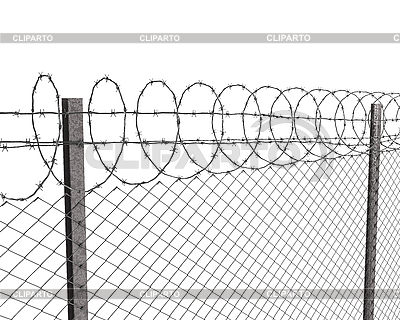 Barb Wire clipart razor wire Barbed Photos Vektor and Stock