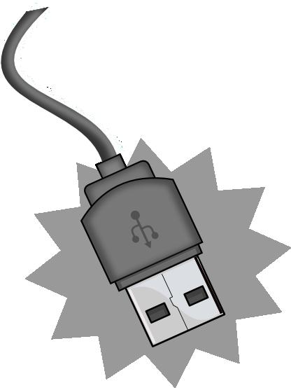 Wire clipart usb cable Clipart Cable Art DSL Clip