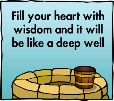 Wisdom clipart Well bucket with Art your