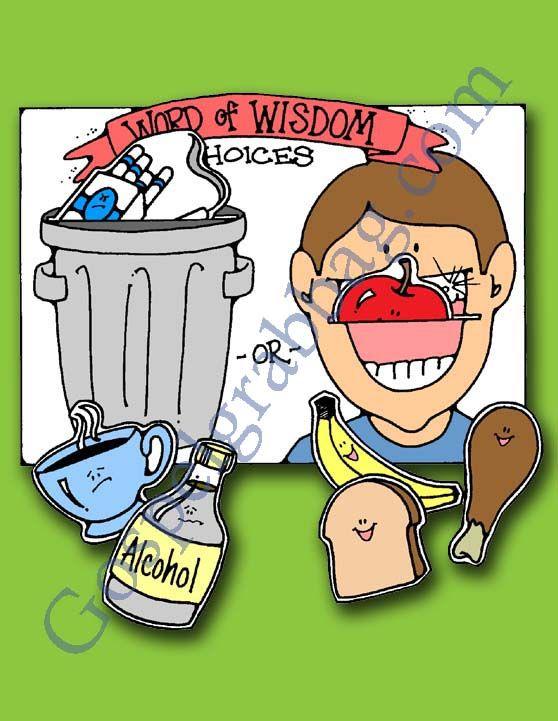 Wisdom clipart cartoon Church handout Pinterest images of