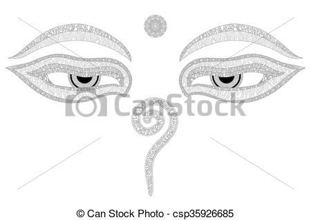 Wisdom clipart closed eye #1