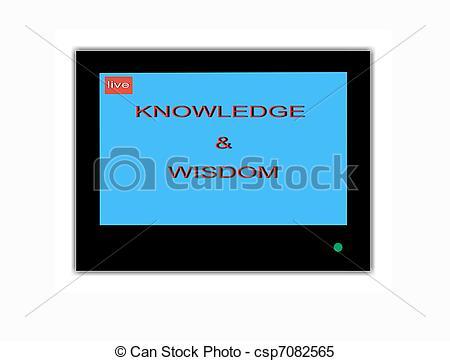 Wisdom clipart knowledge Screen TV TV wisdom Knowledge