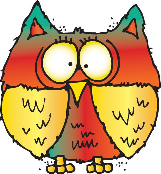 Owl clipart september Très chouette images Pin best
