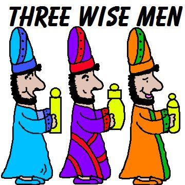 Wisdom clipart wise man On Three men Wise wise