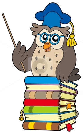 Book clipart bunch Wise owl%20book%20clipart Clipart Images Free