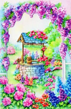 Wishing Well clipart baby Illustrations Search Search wishing My