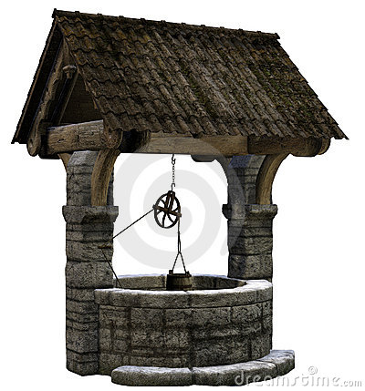 Wishing Well clipart stone well #3