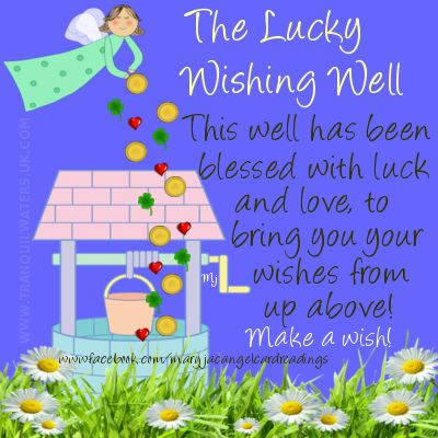 Wishing Well clipart wishes Good Pinterest butterfly horseshoe best