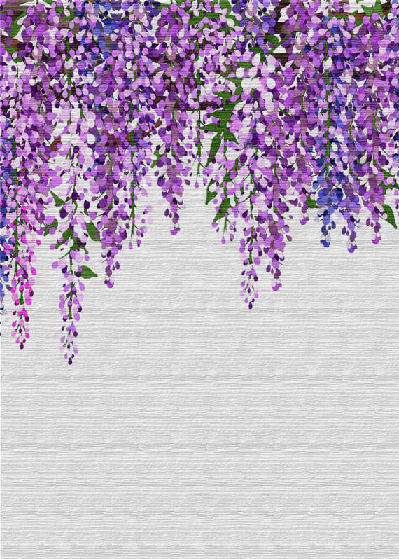 Wisteria clipart border Art is Scrapbooking a This