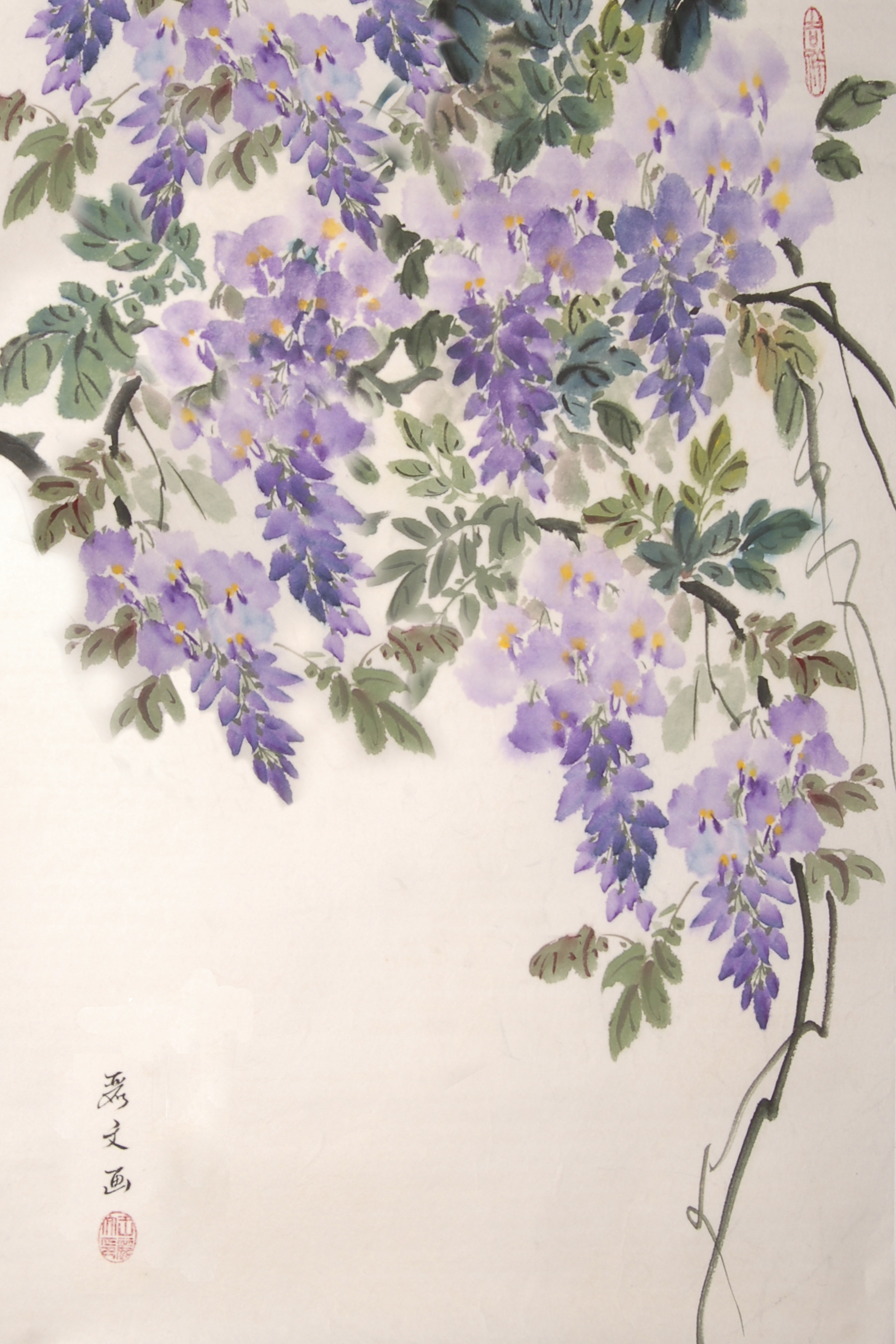 Wisteria clipart painting Our branch with class Painting