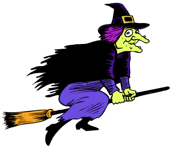Witch clipart #1