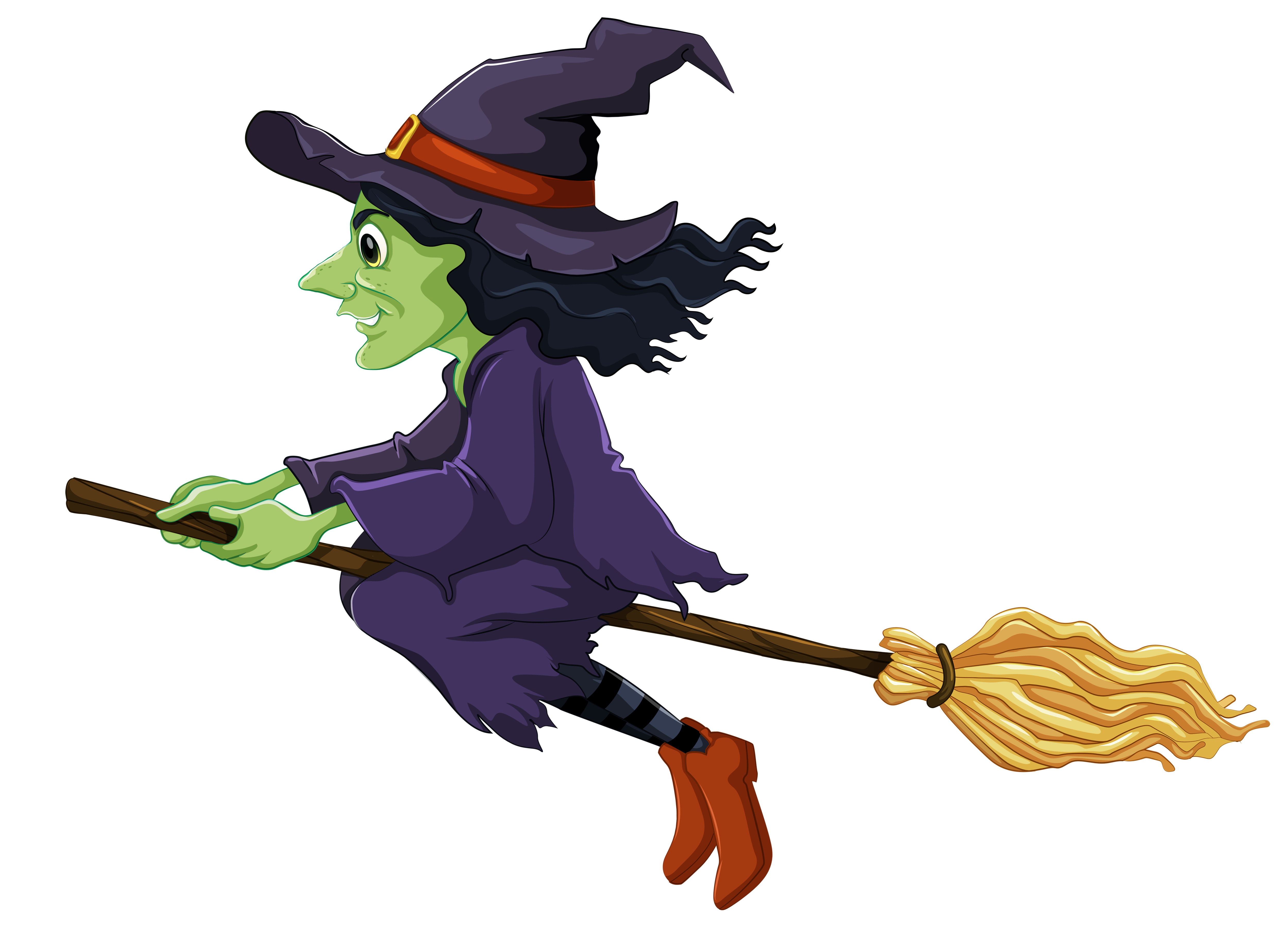 Witchcraft clipart halloween witch Clip Clipart Clipart Witch Halloween