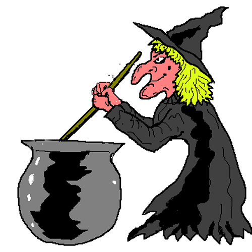 Witch clipart #13