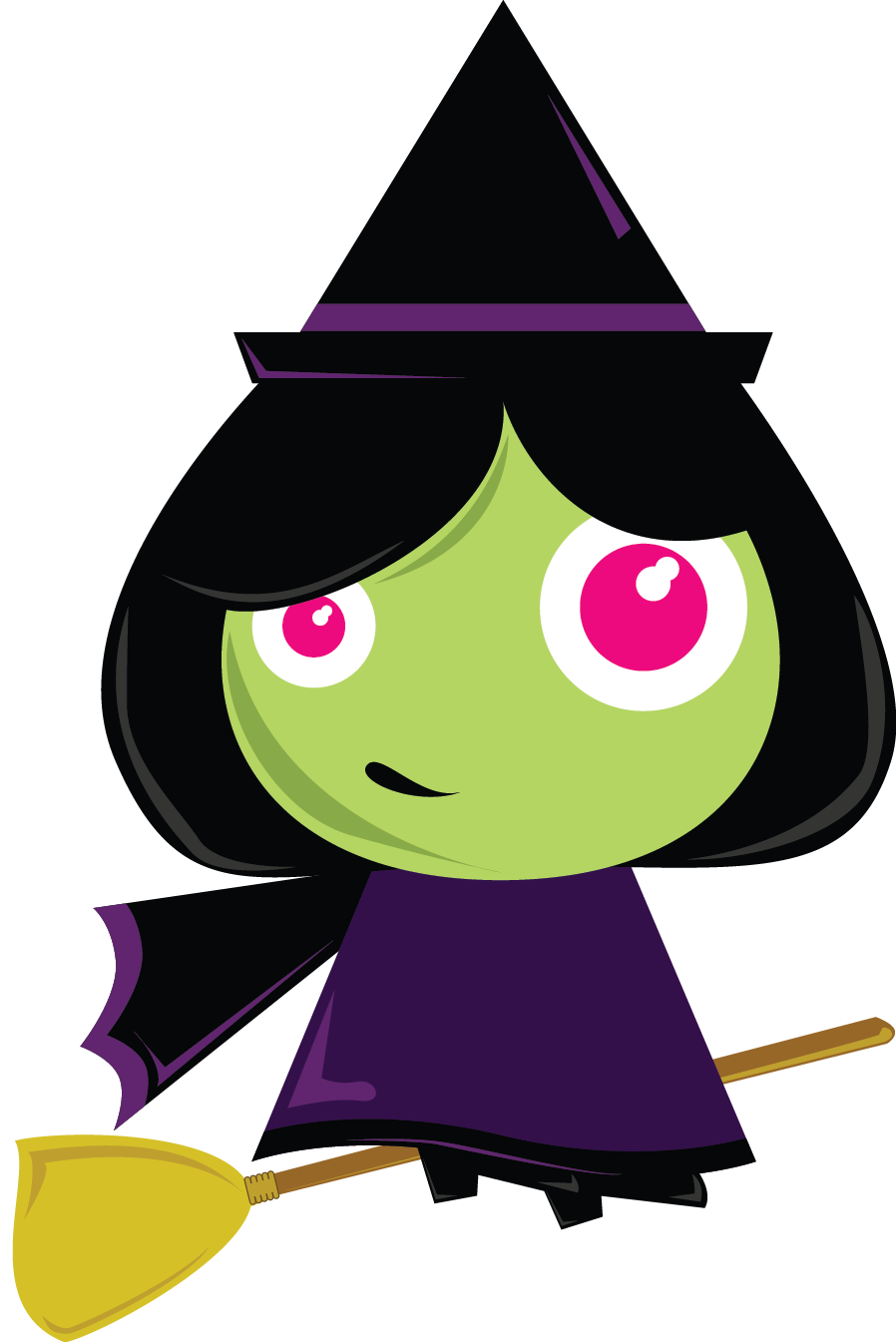 Witch clipart #3