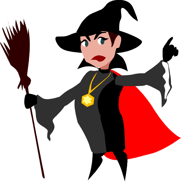 Witch clipart #4
