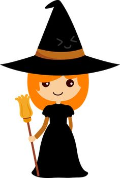 Witch clipart #5