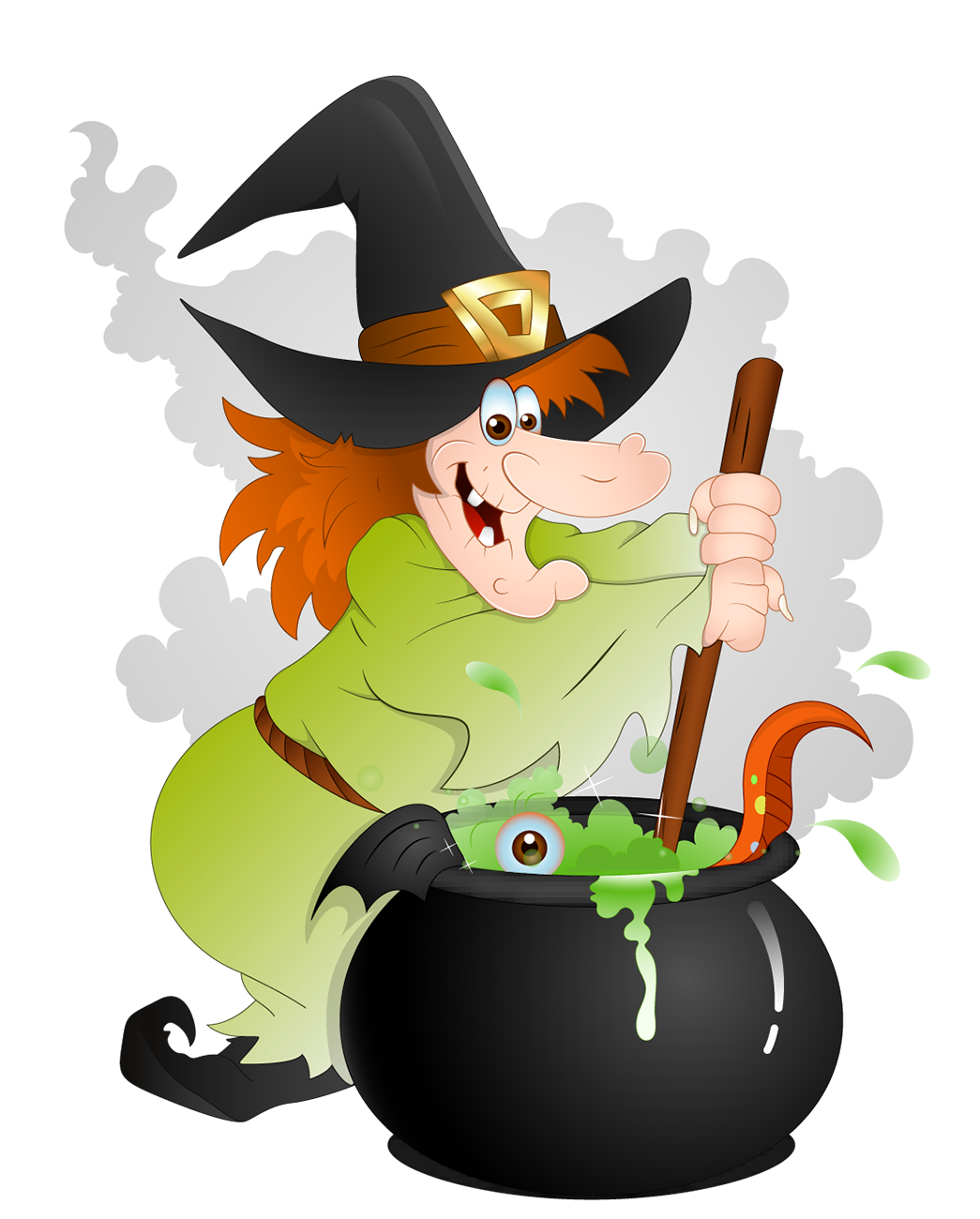 Witch clipart #11
