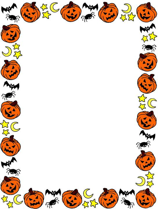 Witch clipart border Halloween borders clipart borders clipart