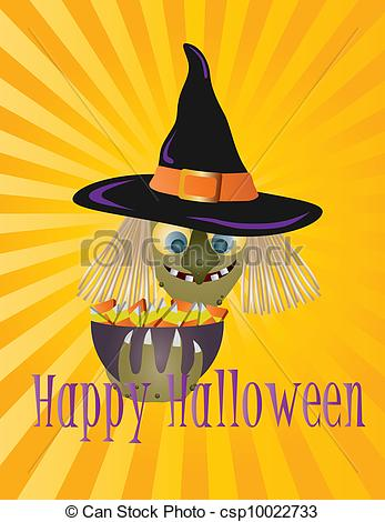 Witch clipart bowl Csp10022733 Bowl Illustration with of