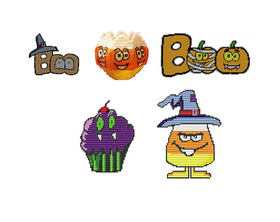 Witch clipart bowl Ghosts Boo Cupcake Witch Vampire