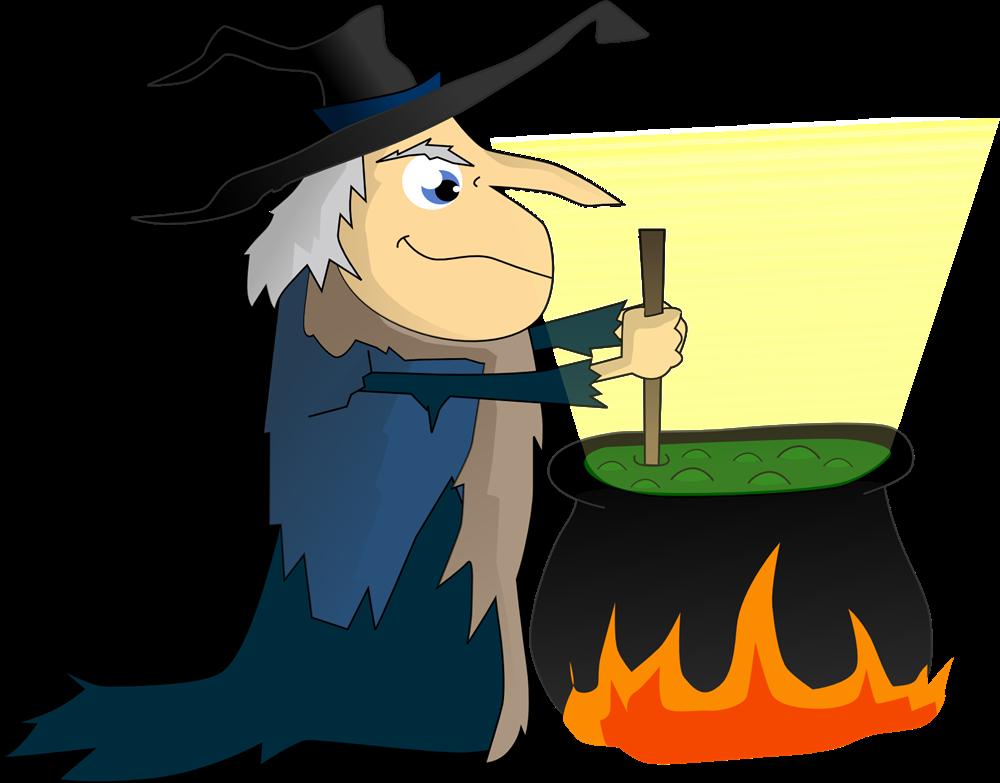 Witch Hat clipart cauldron Halloween clip Witches cartoon cauldron