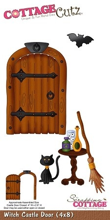 Cottage clipart witch Item COT 4x8 Castle best