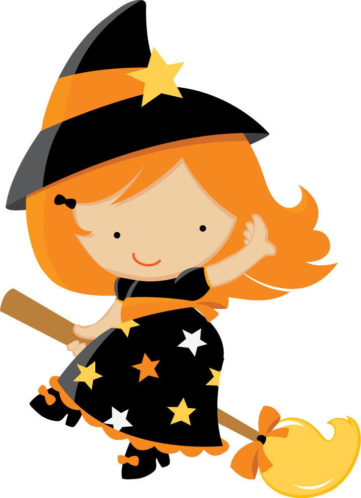 Cottage clipart witch  BABY CLIP ART magos